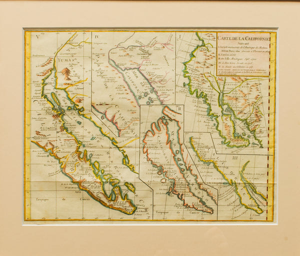 1768 Map of California