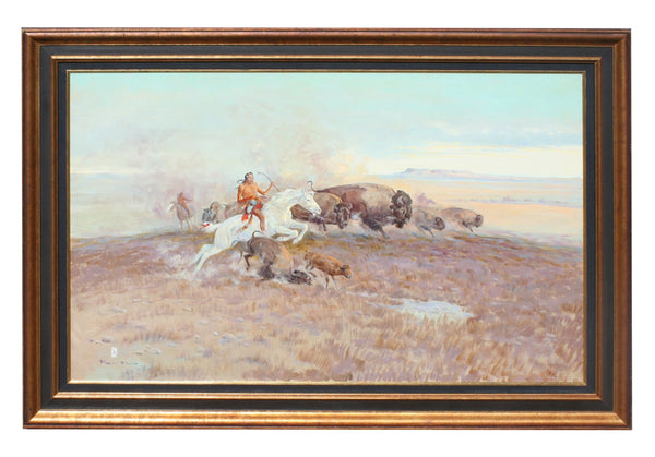 """Buffalo Hunt"" by Ace Powell"