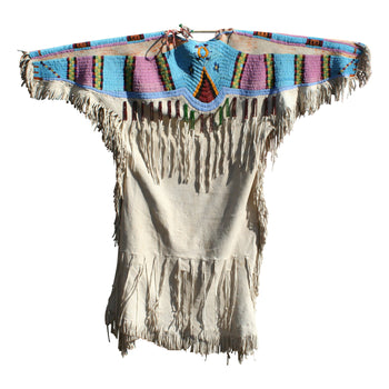 American Indian  american indian: garment: dress, beaded dresses, beadwork, dress, dresses, kaul kaul tomi, nez perce  Direct from the Nez Perce