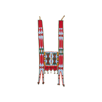 American Indian  beadwork, horse gear, martingales, nez perce, northwest, plateau  Nez Perce Martingale