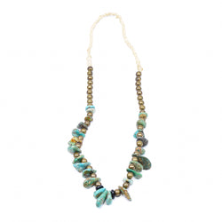Old Navajo Turquoise Necklace
