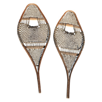 American Indian  algonquin, american indian snowshoes, northeast  Algonquin Snowshoes