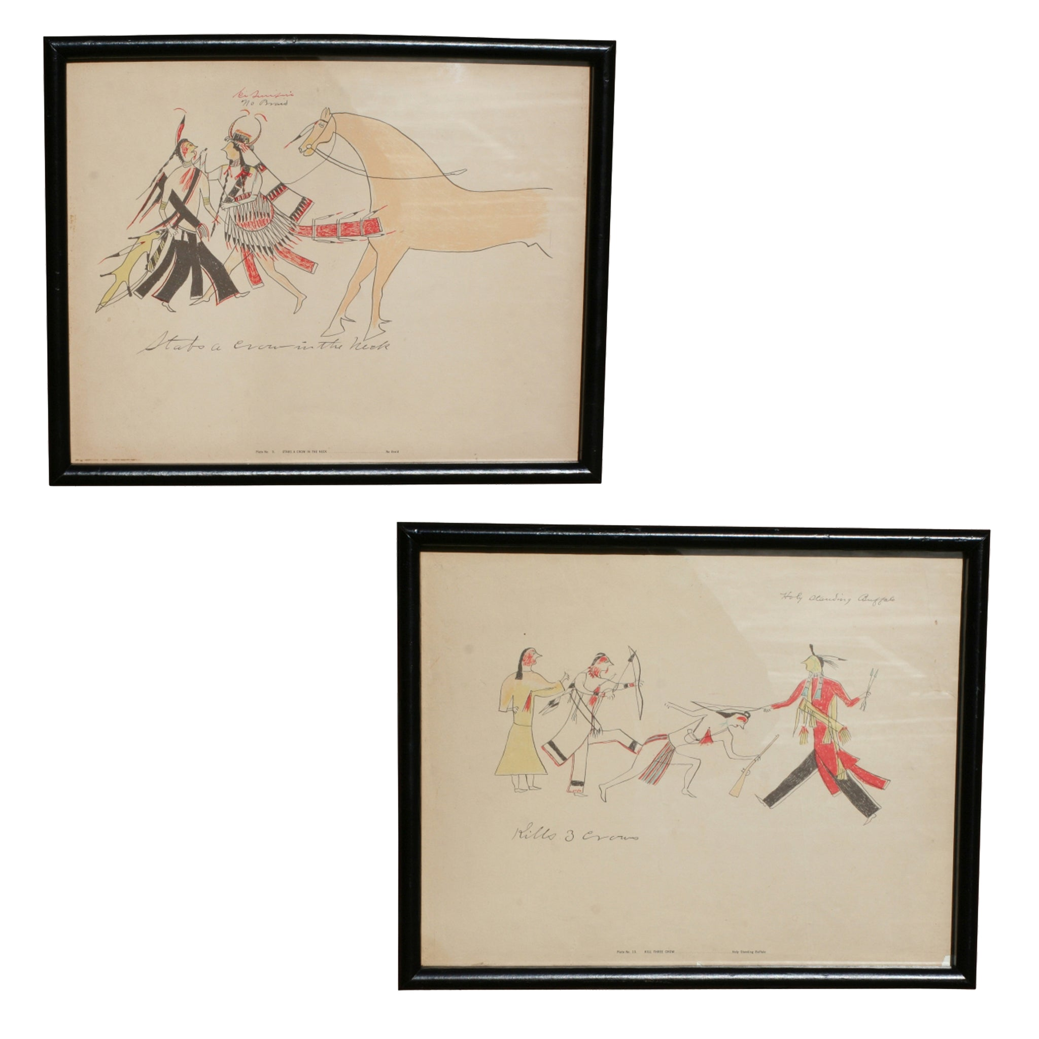 American Indian Ledger Drawings american indian other, horses-native american, ledger drawings