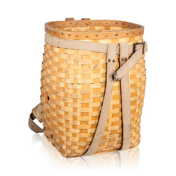 Sporting Goods  adirondack, sporting goods: trapping: other, trapping baskets, white ash  Adirondack Trappers Backpack