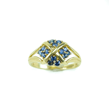 Jewelry  estate, gold, rings, sapphire  Estate Ring