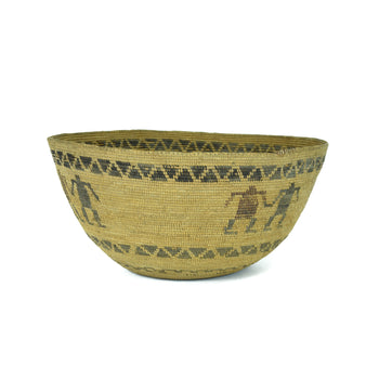 American Indian  baskets, figurative, yokut  Yokut Figurative Basket