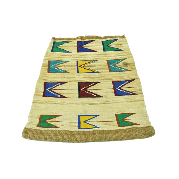 Large Nez Perce Corn Husk Bag