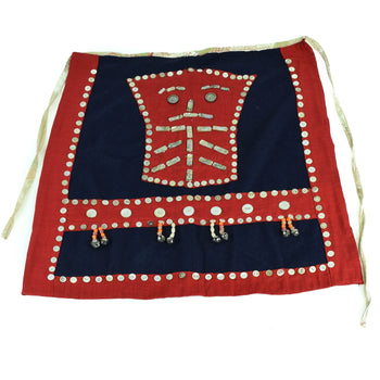 American Indian  american indian, american indian: ceremonial: robe, aprons, northwest coast dance apron, other, robes  Northwest Coast Button Apron