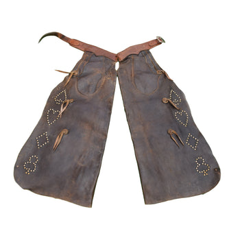 Cowboy and Western  chaps  Batwing Chaps with Studs