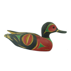 Northwest Coast Duck Decoy