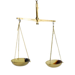 Brass and Horn Balance Scale