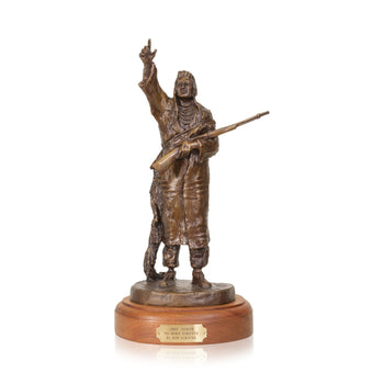 Fine Art  caa, chief joseph, cowboy artists of america, limited bronzes, robert scriver