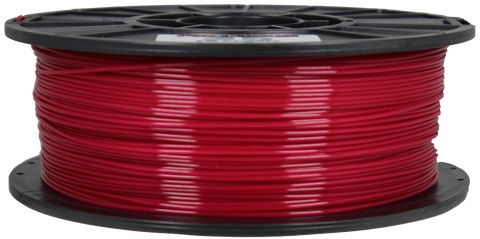 Burgundy Magenta [Translucent] PLA Filament [1.75MM] 2.2LB / 1KG Spool