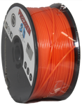 "Bronco Orange Mini ""Slider"" Size Spool PLA 1.75MM Filament .4LB [180 Grams]"