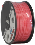 "Flamingo Pink Mini ""Slider"" Size Spool PLA 1.75MM Filament .4LB [180 Grams]"