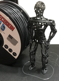 "Gun Metal Gray Mini ""Slider"" Size Spool PLA 1.75MM Filament .4LB [180 Grams]"