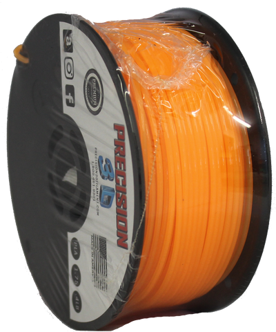 "Halloween Orange Mini ""Slider"" Size Spool PLA 1.75MM Filament .4LB [180 Grams]"