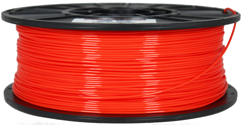 Hot Orange PLA Filament [1.75MM] 2.2LB / 1KG Spool
