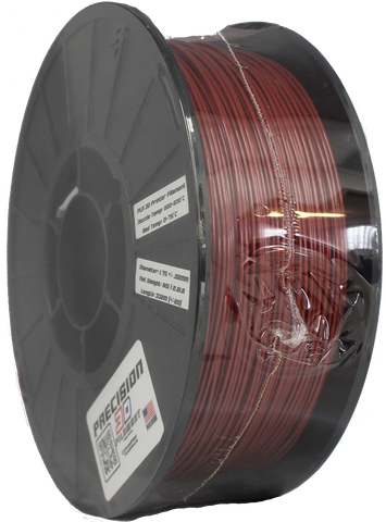 Iron Red PLA Filament [1.75MM] 2.2LB / 1KG Spool