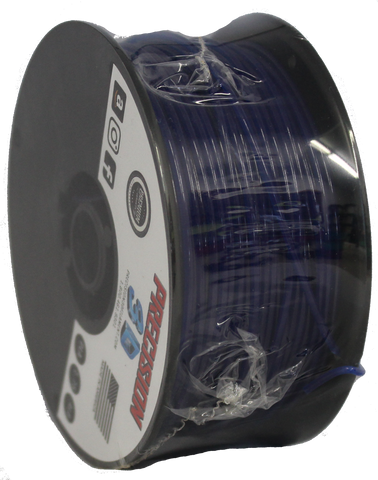 "Keystone Blue [Translucent] Mini ""Slider"" Size Spool PLA 1.75MM Filament .4LB [180 Grams]"