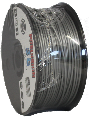 "Silver Mini ""Slider"" Size Spool PLA 1.75MM Filament .4LB [180 Grams]"