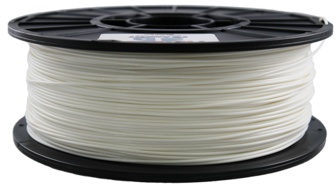 White Ivory PLA Filament [1.75MM] 2.2LB / 1KG Spool