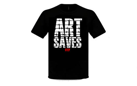 ART SAVES - BARBED WIRE