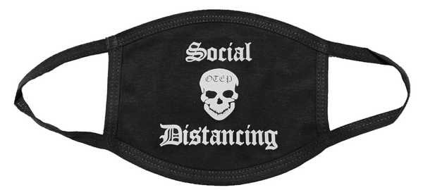 SOCIAL DISTANCING MASK (BLACK)