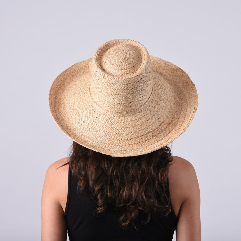 Madaket, Large Brim - Wide Braid Raffia