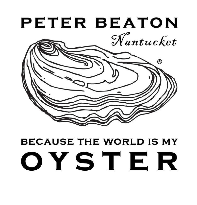 Because The World is My Oyster, T-Shirt - Oyster