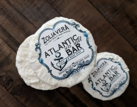 Atlantic Sea Salt Bar Soap