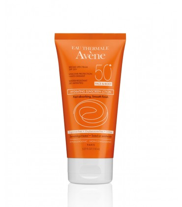 Hydrating Sunscreen Lotion SPF 50+ Face & Body