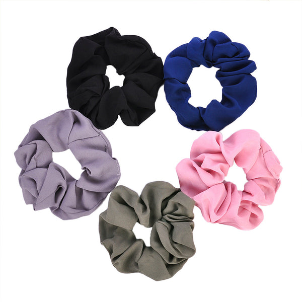 5pcs Boutique Hair Ties Stretchy