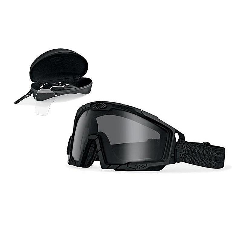 ski goggles oakley sale ca64  Oakley SI Ballistic Goggle 20 Black w/Clear and Grey