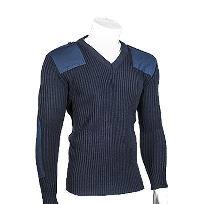 Ribbed Commando Sweater