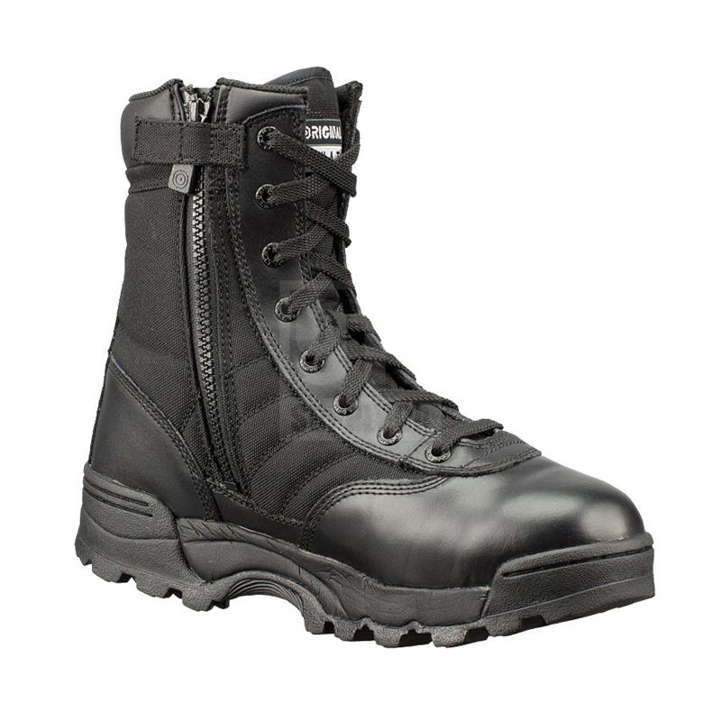 "Original Swat Classic 9"" Boot with SideZip Black 115201"