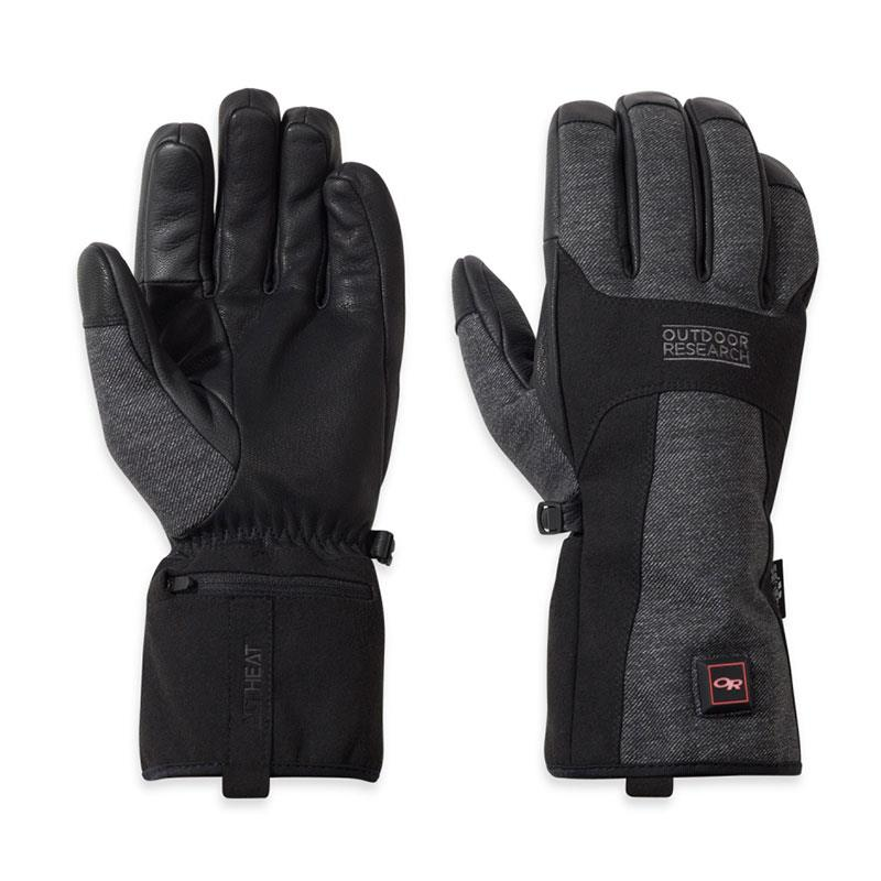 Outdoor Research Oberland Heated Glove Black XS | 911supply.ca