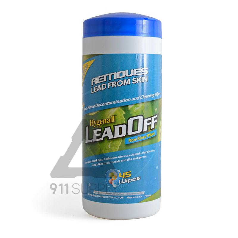 Hygenall Lead off Non-Rinse Wipes (45-wipes Canister)