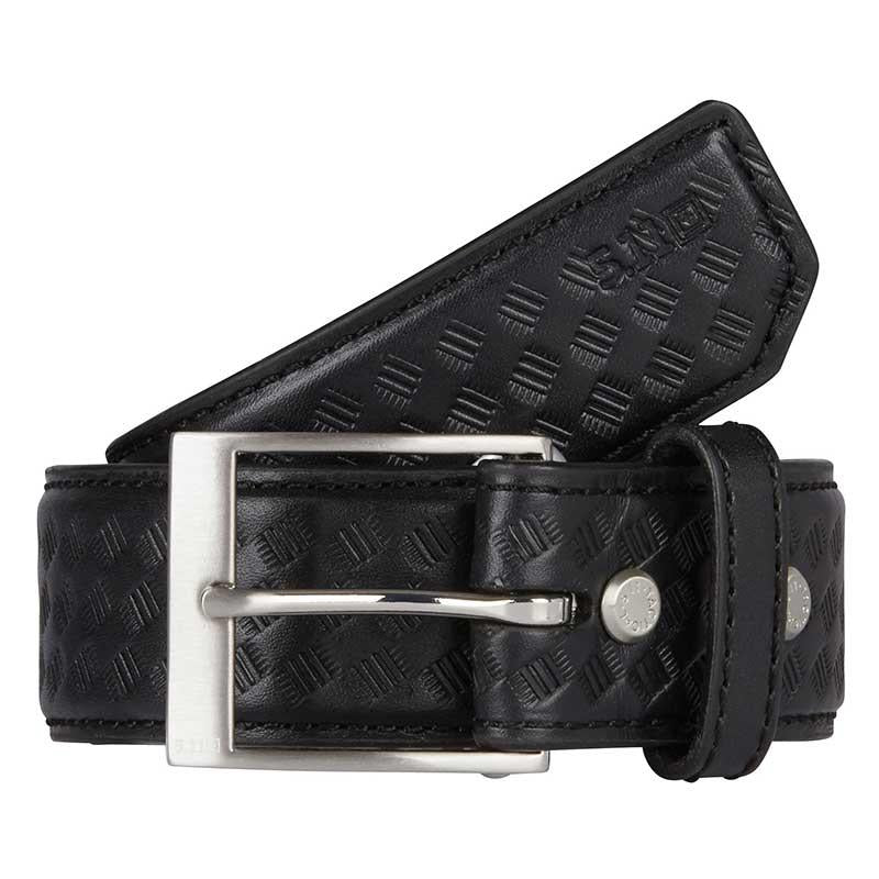 "5.11 Tactical 1.5"" Basketweave Leather Belt 