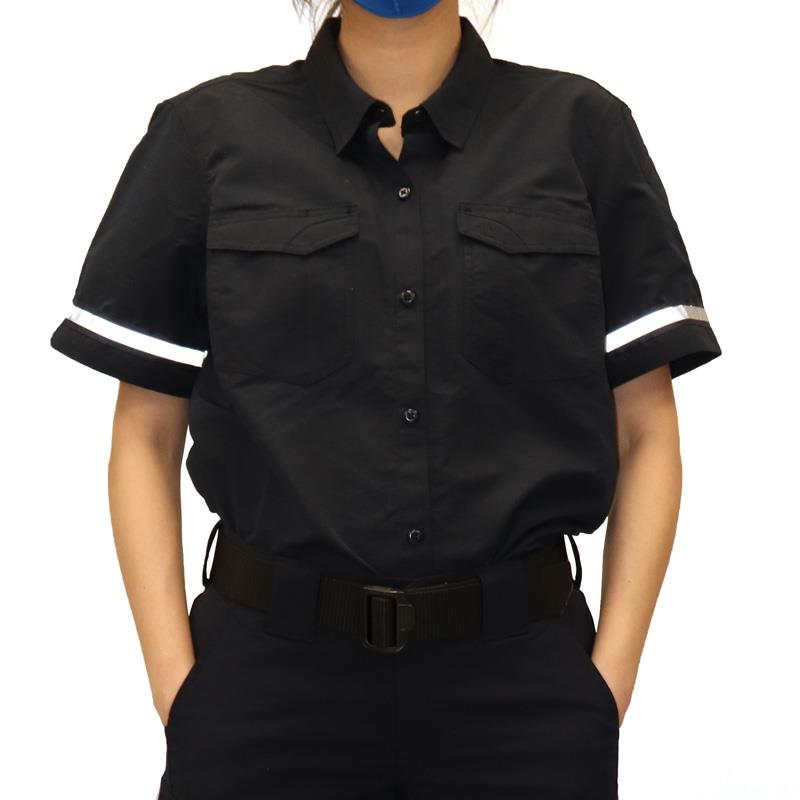 911 Fast-tac MHC Women's Short Sleeve Shirt (Dark Navy)
