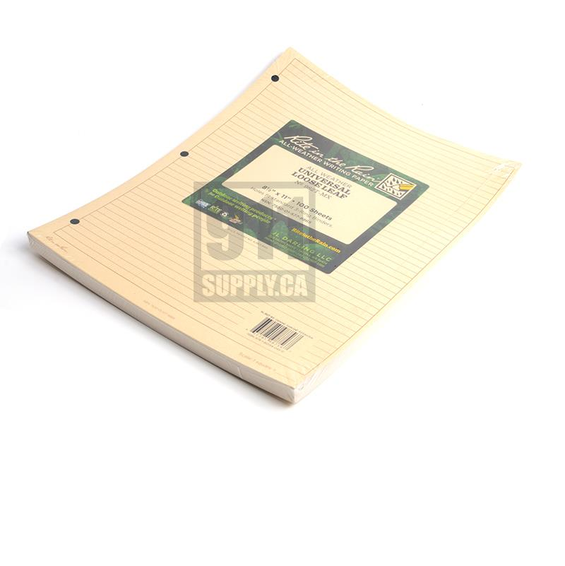 Rite In The Rain Tactical Loose Leaf Sheets