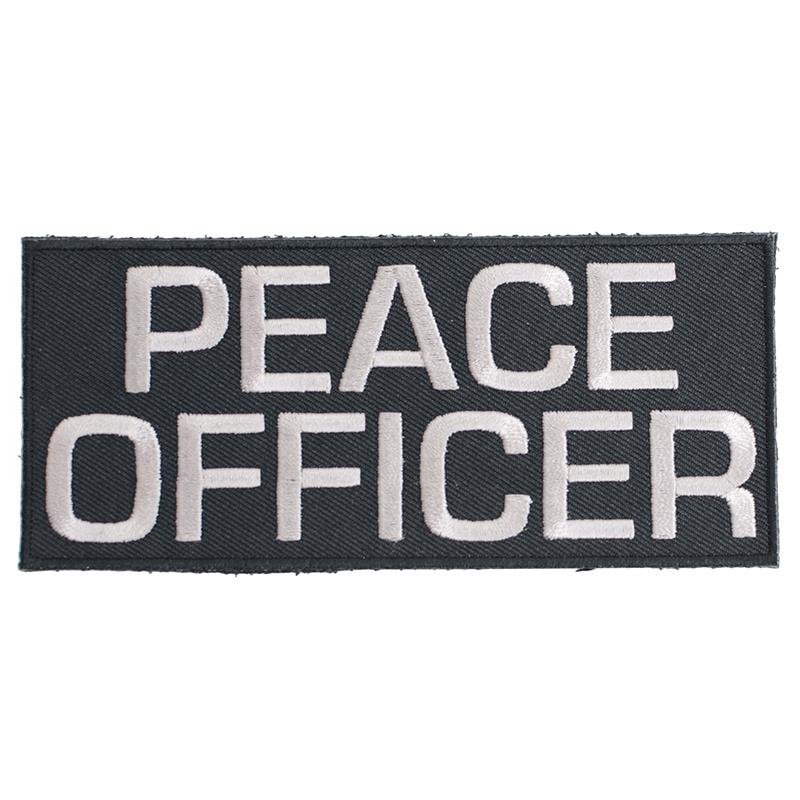 "Peace Officer Patch Velcro 2.2""x5"""