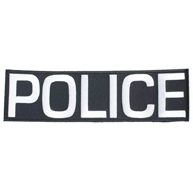 "Police Patch Velcro 2.2""x8"""