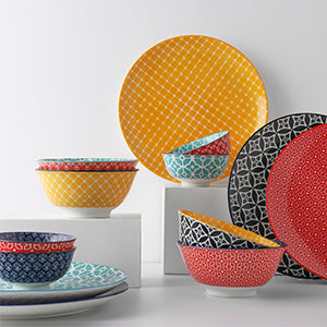 Dowan A Whole Dinnerware Colorful Collections