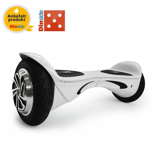 "Hoverboard HX X1 SUV med bluetooth 8"" - hvit - Stayclassy.no"