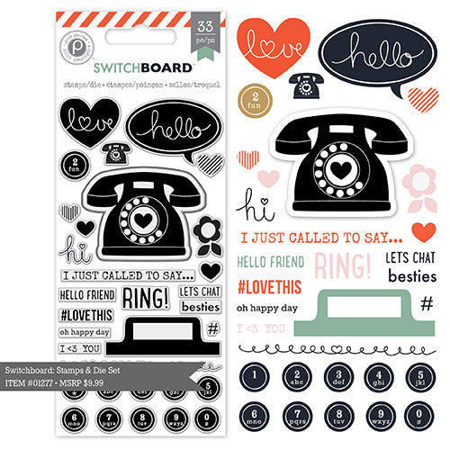 Switchboard - Stamp Set by Pink Paislee