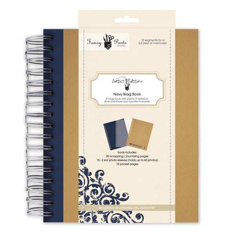 Fancy Pants Artist Edition Navy Brag Book