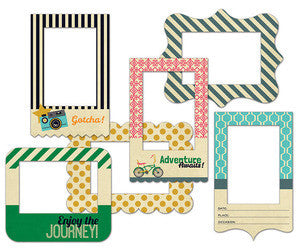 Fancy Pants As You Wish Patterned Photo Frames pkg