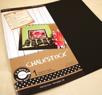 Canvas Corp - Chalkstock 12 x 12 sheet