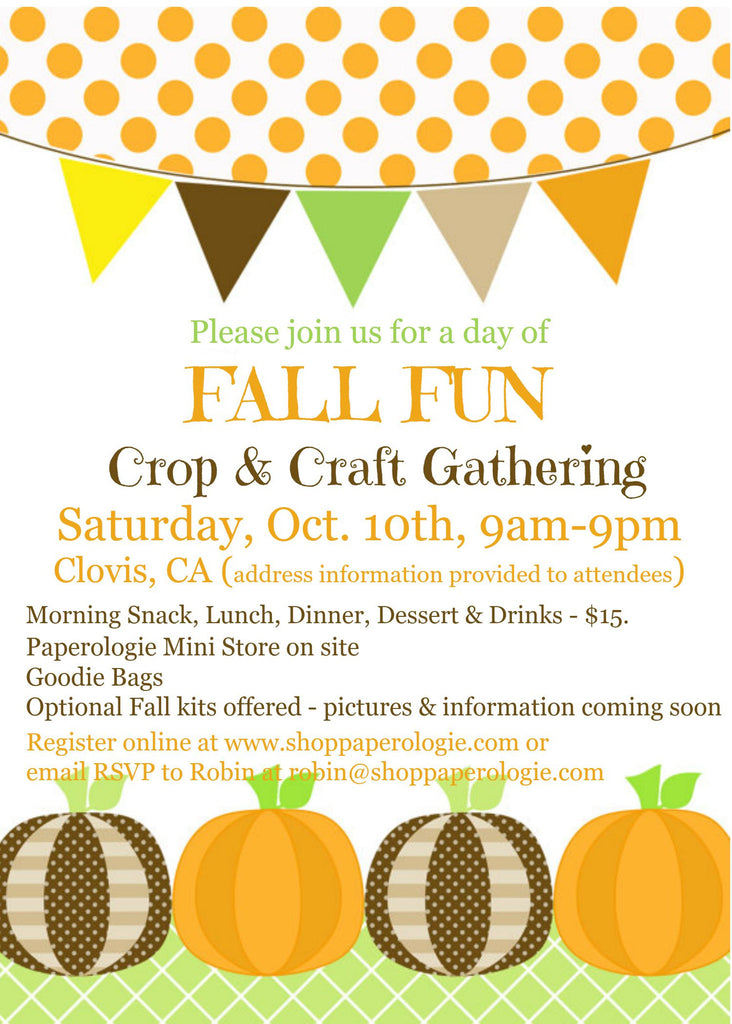 Fall Fun Event!